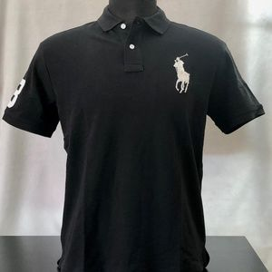 Ralph Lauren Mesh Polo Shirt Big Pony